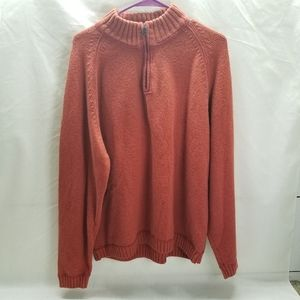 Tommy Bahama 1/4 Quarter Zip Heavy Pullover Sweate